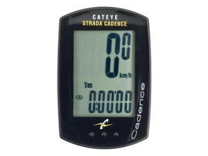 CatEye Strada Cadence Cycling Computer: Black