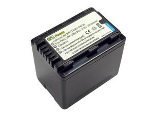CS Power Panasonic Battery Pack vw-vbk360 Replacement Li-ion Battery For HC-V10 , HC-V100 , HC-V500 , HC-V700 , HDC-SD40 ...