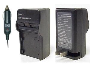 CS Power EN-EL3, EL3e & NP150 AC & DC Battery Wall Plus Car Charger For Nikon & FujiFilm