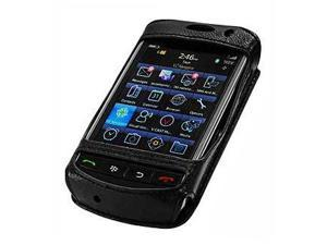 Blackberry 9530 Storm Elite Leather Case with Swivel Clip & Spring Belt Clip