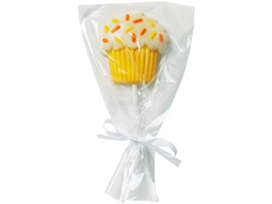 "Drawstring Lollipop Bags 4.5""X5.5"" 15/Pkg-Clear"