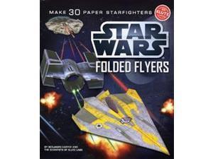 Klutz K539634 Star Wars Folded Flyers: Make 30 Paper Starfighters-