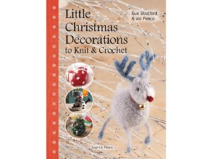 Search Press Books-Little Christmas Decorations