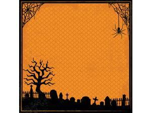 "Easy Peasy Page Layout With 3-D Design 12""X12""-Halloween"