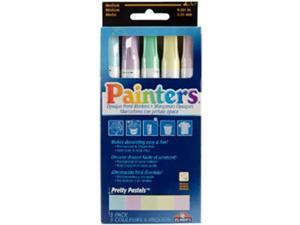 Painter's Opaque Paint Markers 5/Pkg-Pretty Pastels