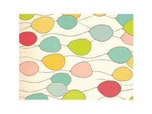 "Wrapping Paper 19.5""X27"" (495mm X 690mm)-Balloons"