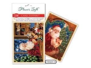 Flower Soft Card Toppers - Christmas-Workshop Santa