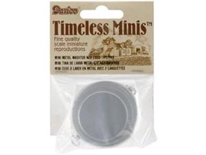 Timeless Miniatures-Metal Washtub W/2 Lugs