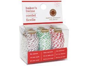 Baker's Twine 6 Rolls/Pkg-Multi-Color