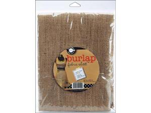 "Packaged Fabric 30""X36"" 1/Pkg-Burlap"