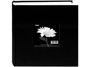 "Cloth Photo Album With Frame 9""X9""-Deep Black"
