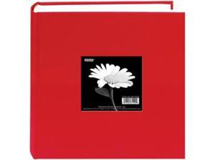 "Cloth Photo Album With Frame 9""X9""-Apple Red"