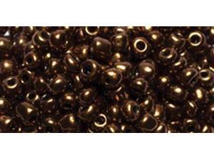 Jewelry Basics Seed Beads-Round Metallic Brown