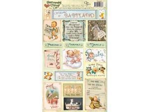 "Creative Scraps Heartwarming Vintage Cuts 7""X12"" Sheet-Babyland"