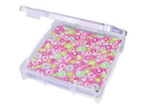 "ArtBin Essentials Storage Box-14.125""X13.625""X3"" Translucent"