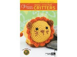 Leisure Arts-Vanna's Choice Easy Crochet Critters