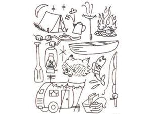 Sublime Stitching Embroidery Patterns-Camp Out