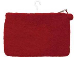 """Feltworks Mini Purse 6""""X4""""X1/2""""-Red"""