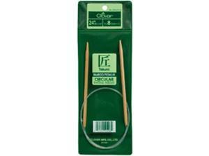 "Bamboo Circular Knitting Needles 24""-Size 8"
