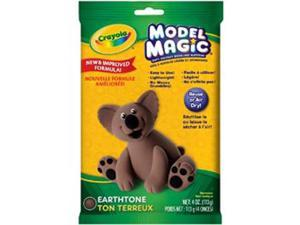 Crayola Model Magic 4 Ounces-Earth Tone
