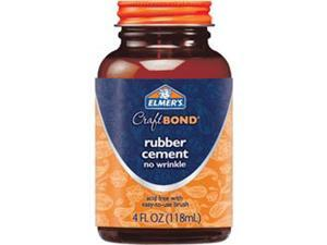 Elmer's Craft Bond Rubber Cement-4 Ounces
