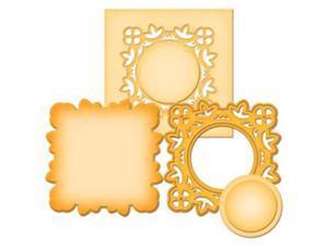 Spellbinders Die D-Lites-Medallion 2