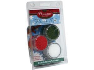 Flower Soft Clam Kits 3/Pkg-Christmas Textures