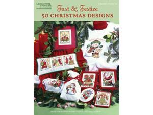 Leisure Arts-Fast & Festive&#59; 50 Christmas Designs