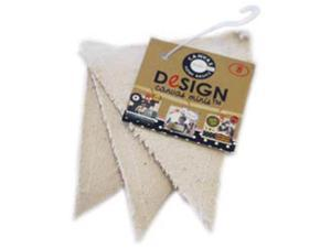 Paintable Canvas Shapes -Mini Triangle 3/Pkg