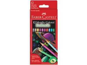 Faber Castell Metallic Colored Eco Pencils 12/Pk Art