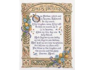 "Lord's Prayer Counted Cross Stitch Kit-11-1/4""X14-1/2"" 14 Count"