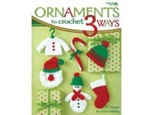 Leisure Arts-Ornaments To Crochet 3 Ways