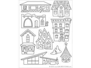 Sublime Stitching Embroidery Patterns-Dream Homes