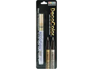 Deco Color Extra Fine Metallic Paint Marker 1/Pkg-Liquid Gold