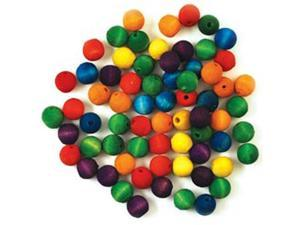 Craftwood: Round Beads 12mm 80/Pkg-Colored