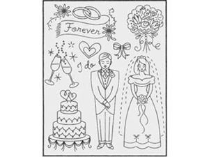 Sublime Stitching Embroidery Patterns-Wedding Wishes