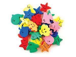 Krafty Kids: Fun Foam Assorted Animal Beads 6mm -Sea Life