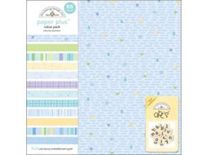 "Paper Plus Assortment Pack 12""X12"" Sheets 12/Pkg-Baby Boy"