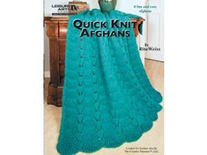 Leisure Arts-Quick Knit Afghans
