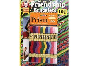 Friendship Bracelets 101 & Prism Floss Pack-