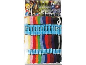 Prism Craft Thread Pack 8 Meters 36/Pkg-Rainbow