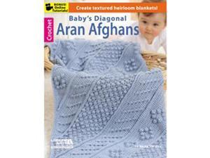 Leisure Arts-Baby's Diagonal Aran Afghans