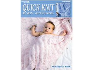 Leisure Arts-Quick Knit Baby Afghans