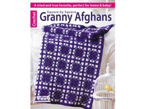 Leisure Arts-Square By Square Granny Afghans