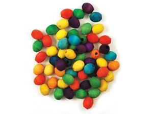Craftwood: Oval Beads 17x14mm 60/Pkg-Colored
