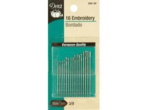 Embroidery Hand Needles-Size 5/10 16/Pkg