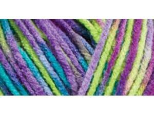 Red Heart Comfort Yarn-Apple/Purple/Jade Prints
