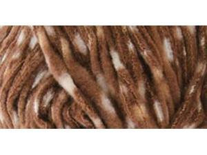 Cuddle Fleece Dots Yarn-Bear