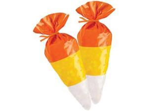 "Shaped Party Bags 6""X9"" 15/Pkg-Candy Corn"