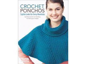 Leisure Arts-Crochet Ponchos: 6 Chic Designs